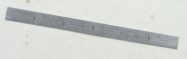 "Starrett 6"" rule No. C305R"